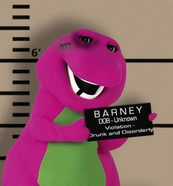 barney goes to jail Not a topix user yet sign up.